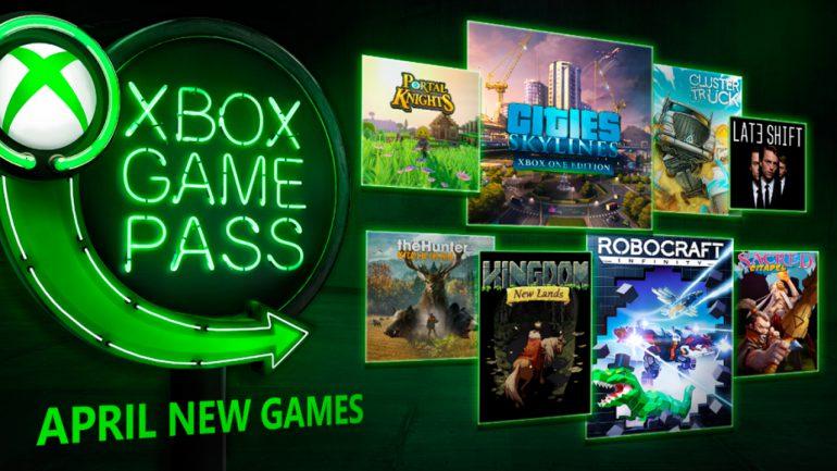 Nuevos Juegos Llegan A Xbox Game Pass En Abril De 2018 Gamer Style