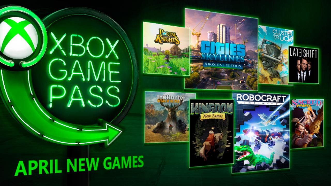 Nuevos juegos llegan a Xbox Game Pass en abril de 2018 ...