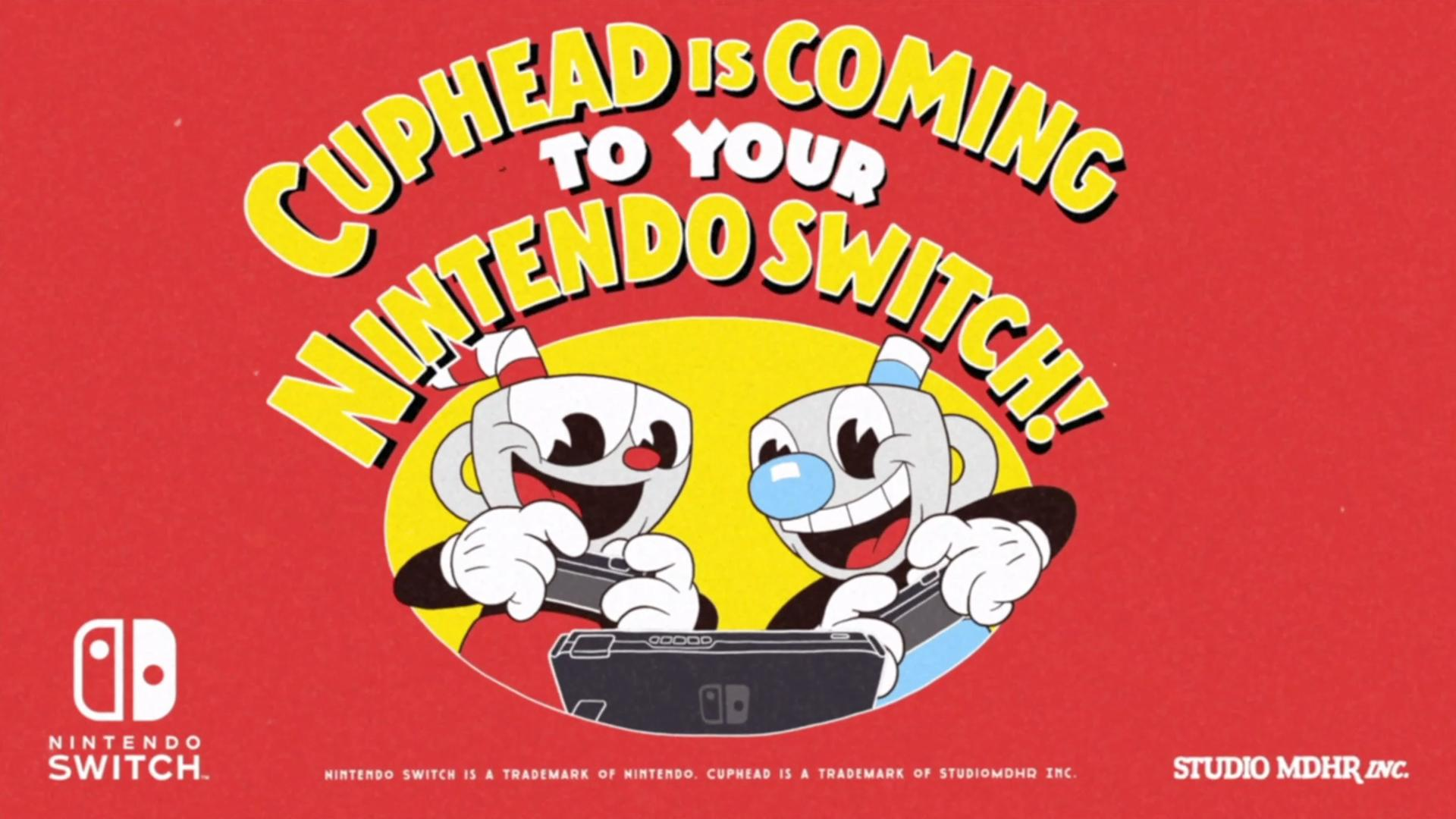 Cuphead en Switch