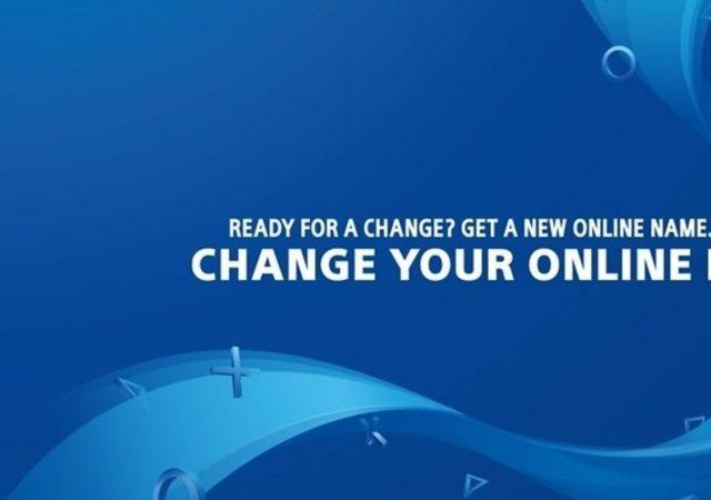 PlayStation Network - cambio de ID en PSN