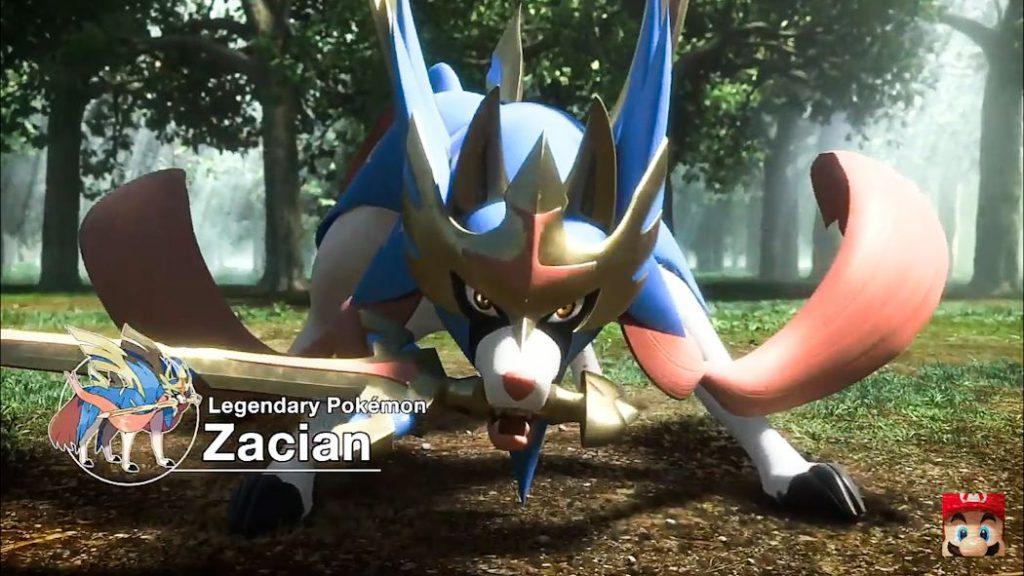Pokemon Shield and Sword - Zacian