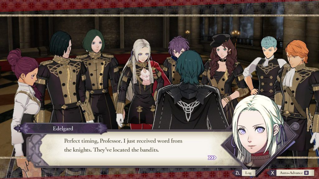 Fire Emblem Three Houses - Screenshot 2