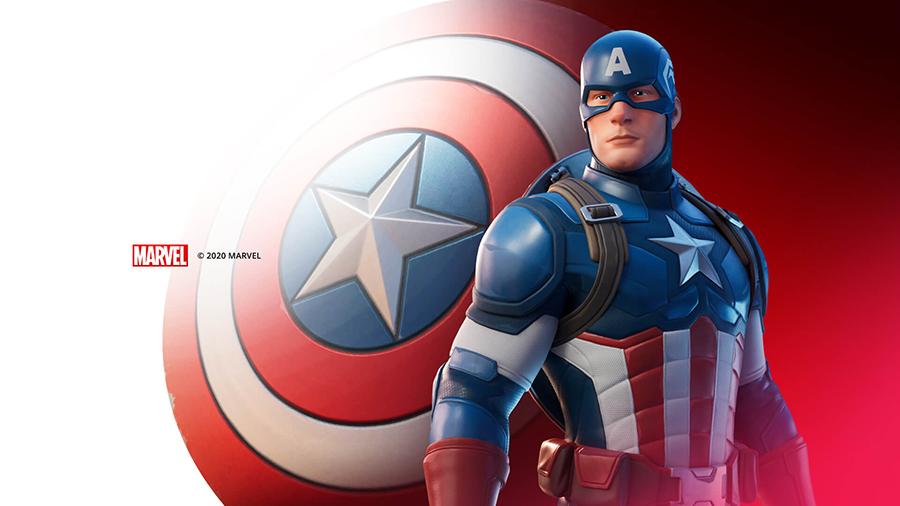 Capitán América Fortnite
